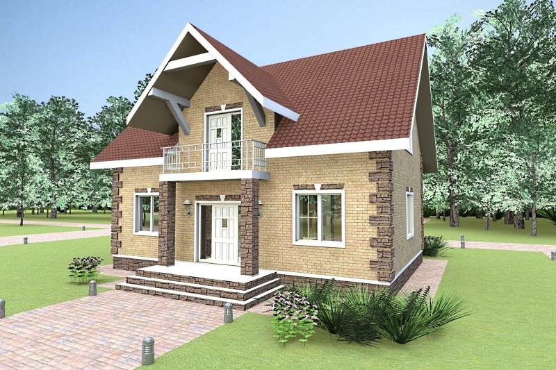 моя, хочу кирпичные дома с мансардой и балконом фото качестве образцов