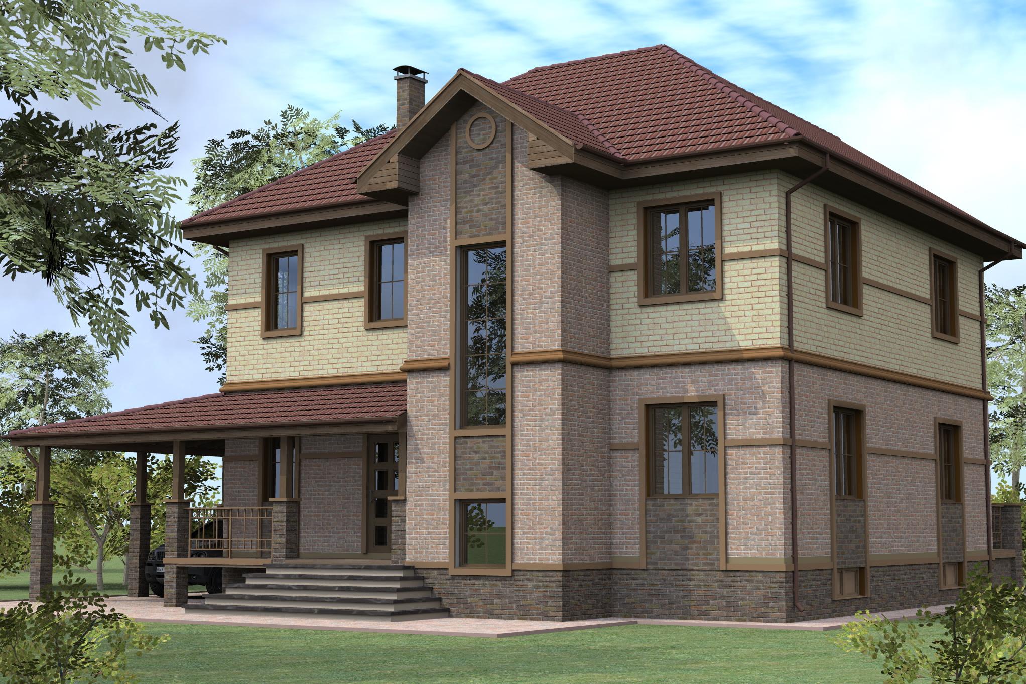 фото построенных домов с проектами ночи